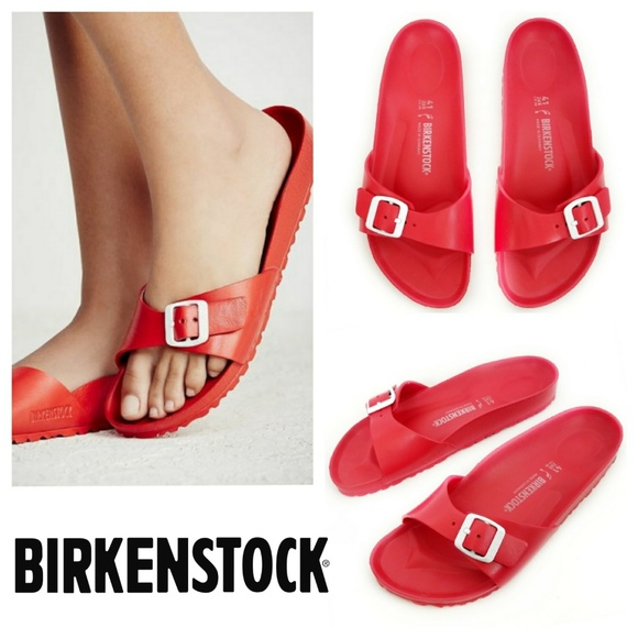 b0a07140202a Birkenstock Shoes - Birkenstock Madrid Eva Red NWOT Sz 10